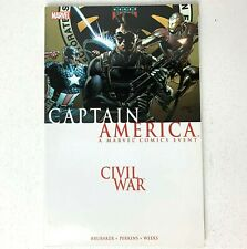 Civil War: Captain America (Marvel, 2011) Iron Man - Trade Paperback TPB Book