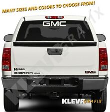 GMC Logo Vinyl Decal Sticker Sierra Canyon Truck Acadia Terrain Yukon Denali