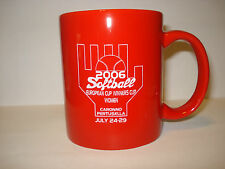 SOFTBALL EUROPEAN 2006 CUP WINNERS CUP - MUG -TANKARD - COFFEE CUP