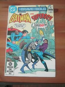 Brave and the Bold #192 Nov 1982 Batman and Superboy - Direct Edition  ZCO