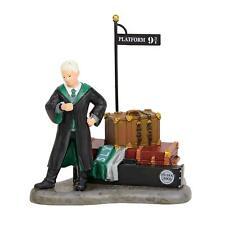 Department 56 Harry Potter Village Draco Waits at Platform 9 3/4 Figurine