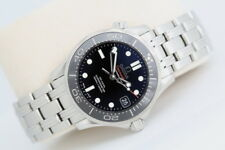 Men's Omega Seamaster - Mid Size Co-Axial Automatic Watch - Black Ceramic Bezel