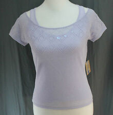 Shu Shu, Small, Lavender Sweater Set, New with Tags