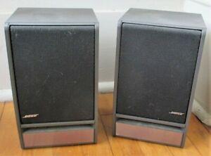 BOSE Speakers Model 141 Stereo Bookshelf Speakers SET OF TWO