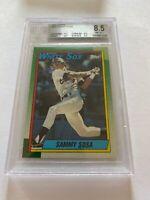 1990 Topps #692 Sammy Sosa BGS 8.5 2/9.5 Subs!