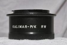 Adaptor -- Pentax K mount to M44 mount