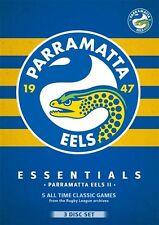 NRL - Essentials - Parramatta Eels II (DVD, 2015, 3-Disc Set)