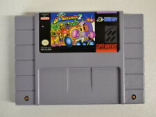 4 ) SNES - Spiel Bomberman 2 -  US NTSC Version