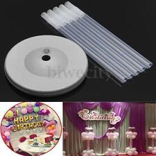 Balloon Column Base Stand + 5 Tube + 5 Connector Birthday Wedding Party Decor