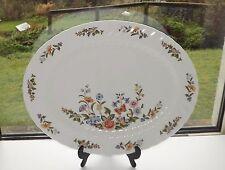 Aynsley English Bone China Cottage Garden Pattern Large Serving Platter 40cm