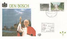 Bezoek van paus Johannes Paulus II in Den Bosch (Nederland)