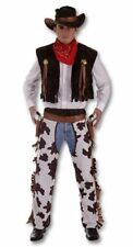Adult Mens Western Cowboy Chaps Fancy Dress Costume. XL Size Costume. Perfect F