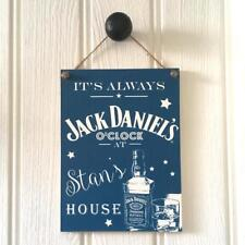 Personalised Jack Daniels Sign Housewarming New Home Gift Man Cave Fathers Day