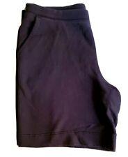 """Hanna Andersson M Mens / Unisex Sweatpants Shorts Blue Knit Cotton 36"""" Waist"""