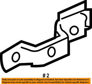 Mercury FORD OEM Front Door-Door Handle Reinforcement Right 6L8Z78219B40A