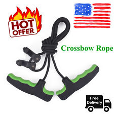 Crossbow Rope Cocking Device Double Handle Large Design Archery Hunting Assist