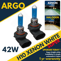 H10 42w 8500k Xenon Fog Super White Effect Look Headlight Lamps Light Bulbs 12v
