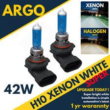 H10 42w White Xenon Upgrade Hid 710 Headlight Bulbs Full / dipped / Fog Spot 12v