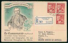 Mayfairstamps Australia FDC 1948 Sir Ferdinand Von Mueller Registered Wide World