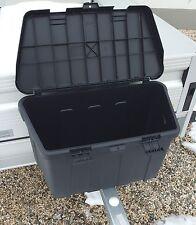 Staubox mit Montagesatz Deichselbox Werkzeugkasten für Anhänger Staukiste