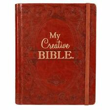 KJV My Creative Bible Brown Lux-Leather (2016, Hardcover)