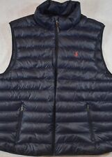 Polo Ralph Lauren Puffer Outerwear Packable Down Vest Navy S Small NWT