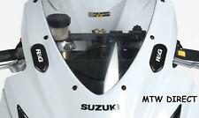 Suzuki GSXR750 & GSXR600 2006-2010 R&G RACING MIRROR BLANKING PLATES