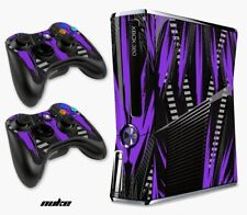 Skin Decal Wrap for Xbox 360 Slim Gaming Console & Controller Xbox 360 S NUKE PU