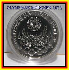 10dm Olympiade 1972 Pp In 10 Dm Gedenkmünzen Original Pp Der Brd
