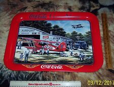 "COKE BRAND TRAY THE COCA  COLA COMPANY GOES ALONG VERY LARGE TRAY 12"" BY 18"""