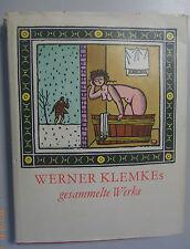 Werner Klemkes ~Gesammelte Werke ~zusammengetragen von Horst Kunze