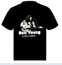 Neil Young And Crazy Horse   Music punk rock t-shirt  L- XL - XXL   NEW