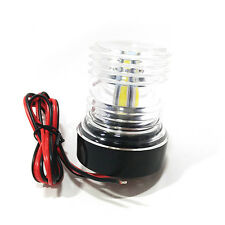Marine Boat Yacht Navigation Anchor Light All Round 360° White LED Waterproof YX