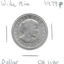 1979P Wide Rim Susan B. Anthony Dollar Coin Choice UNC