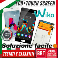 "LCD DISPLAY+TOUCH SCREEN PER WIKO U FEEL LITE UFEEL 5,0"" VETRO SCHERMO MONITOR!!"