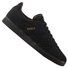 Adidas Retro Gazelle Zapatillas Deportivas Zapatillas Piel All Black Negro