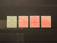 GandG Stamps Germany Empire Service 1903 Prussia Frei Durch Ablosung Nr.21 Lot