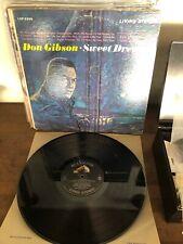 Don Gibson Sweet Dreams LP Vinyl OG RCA LPM-2269 Produced by Chet Atkins