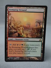 MTG Magic the Gathering Card X1: Stomping Ground - Shock Land - Guildpact EX/NM