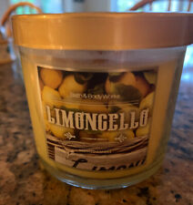 Bath & Body Works LIMONCELLO Candle Small 4 oz Jar New