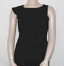 Calvin Klein NEW Sleeveless Ruffled Belted Top REG 12