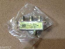 GE Electronics 3-Way Splitter 5-900 MHZ 32-3033