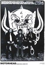 Motörhead Poster Harrow Road London 1979