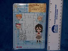 Bleach anime blue mini puzzle featuring Rukia Kuchiki and Chappy the rabbit NIP