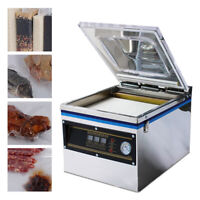 Commercial Vacuum Packing Sealing Machine Table Top Sealer Industrial Chamber US