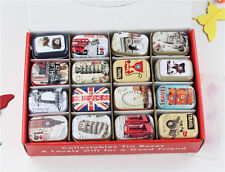Small Tin new retro style Secret Storage Tobacco Box Little Candy,16 styles, no8