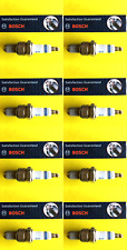 New SET OF 8 BOSCH Platinum Spark Plugs - 4506 Made in Germany