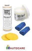 Poorboy's World Glaze Kit Natty's Paste Wax + Diamond Glaze