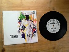 "Paul Haig Heaven Sent / Running Away 7"" Single VG Vinyl Record IS111 P/S"