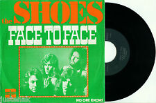 """the SHOES 'Face to Face / No one Knows' 1974 DUTCH POP PS VINYL 7"""""""